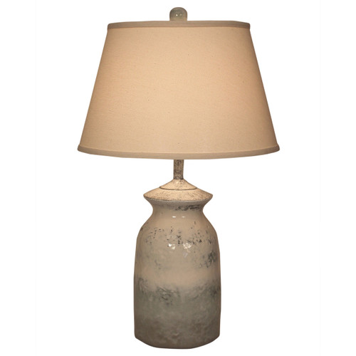 Short Alabaster Table Lamp
