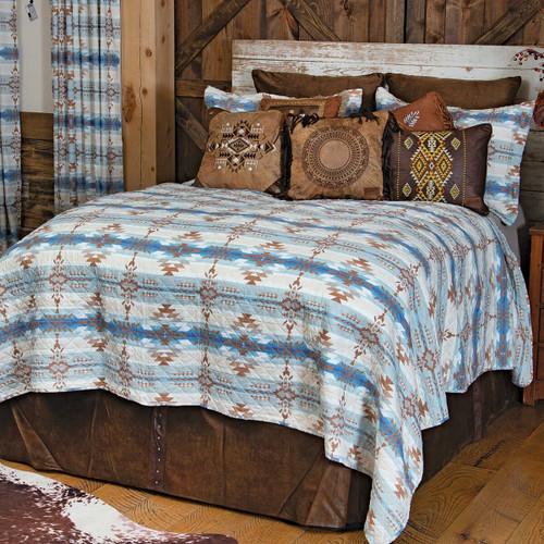Sierra Vista Quilt Set - Twin - OVERSTOCK