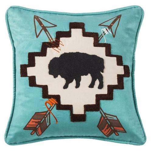 Single Buffalo Pillow