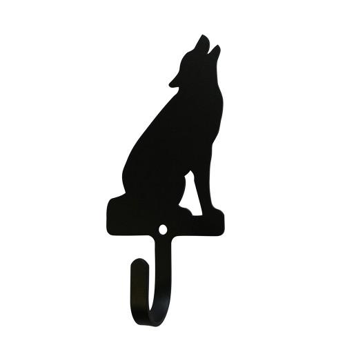 Sitting Wolf Small Wall Hook