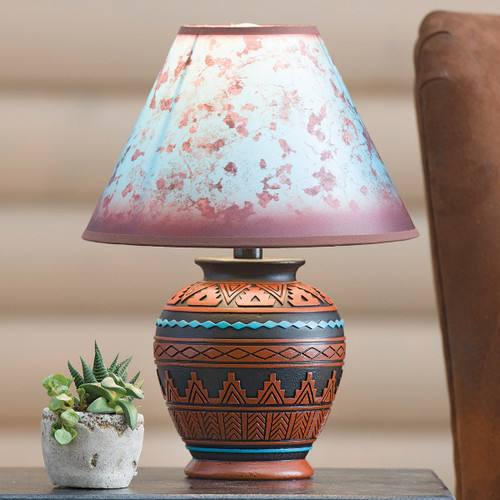 Sky Valley Southwest Table Lamp
