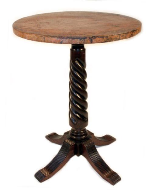 Solomon Bistro Table w/ Copper Top
