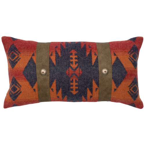 Socorro II Geometric Pillow