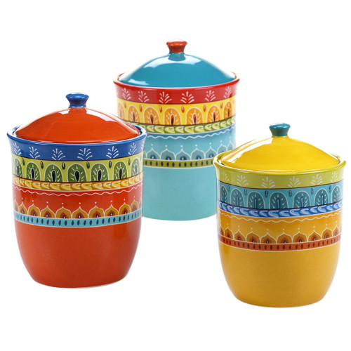 Sonoran Splendor Canisters - Set of 3