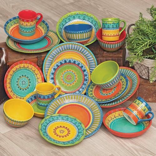 Sonoran Splendor Soup / Pasta Bowls - Set of 4