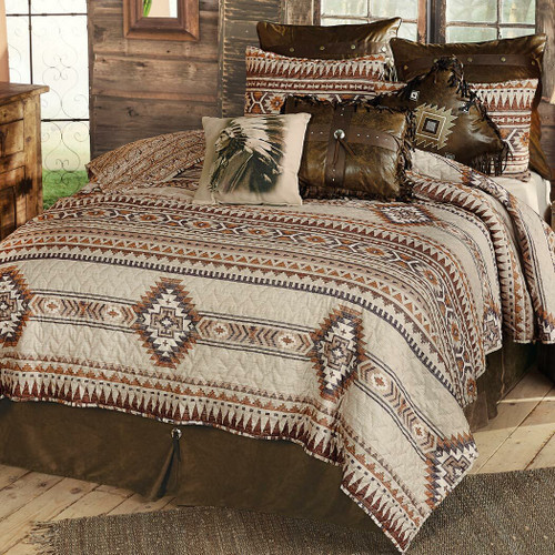 Southern Flare Quilt Set - Queen