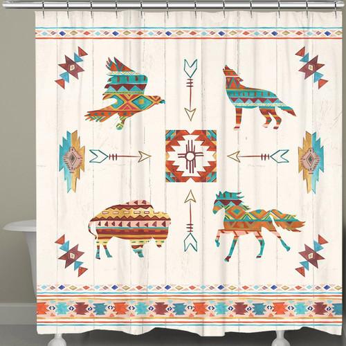 Southwest Animals Shower Curtain
