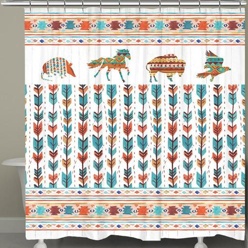 Southwest Arrows Shower Curtain