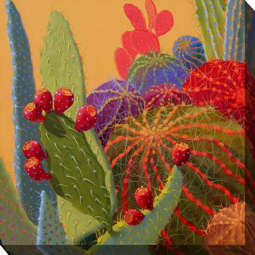 Southwest Botanicals II Canvas Art