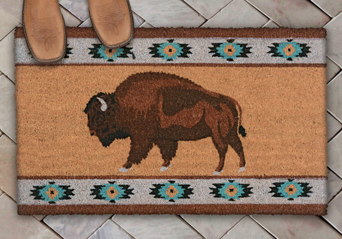 Southwest Buffalo Coir Mat