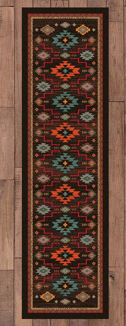 Southwest Canyon Rug - 2 x 8