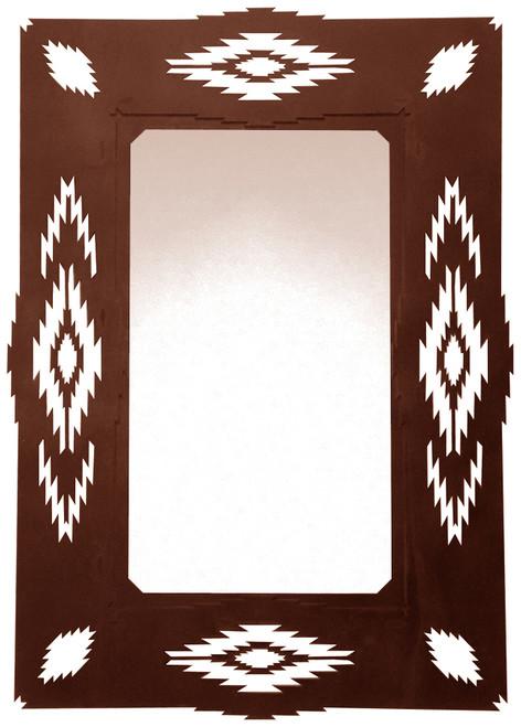 Southwest Desert Diamond Mirror
