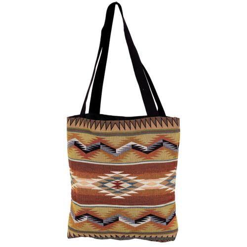 Southwest Geometric Flame Tote Bag