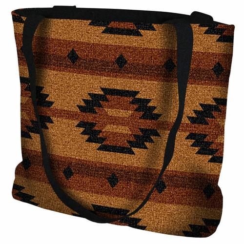 Southwest Geometric Tan Tote Bag