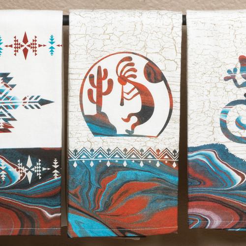 Southwest Impressions Kokopelli Dual Purpose Towel