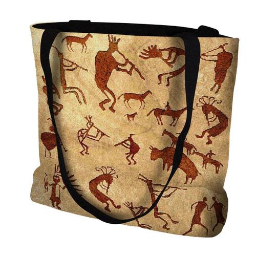Southwest Petroglyphs Tote Bag