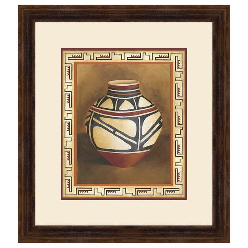 Southwest Pottery I Framed Print