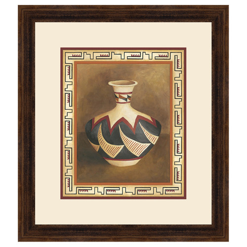 Southwest Pottery II Framed Print