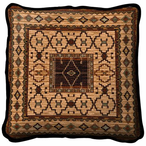 Southwest Sampler Moccasin Pillow