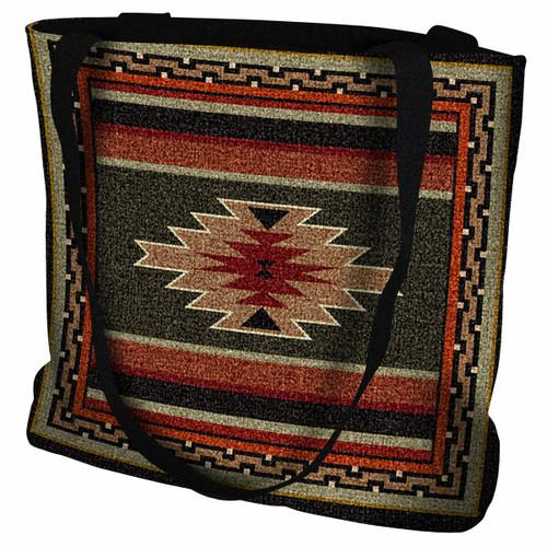 Southwest Sampler Red and Green Tote Bag