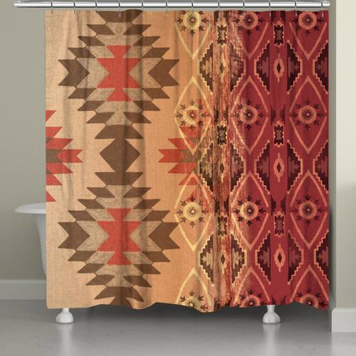 Southwest Sun Shower Curtain