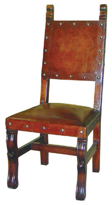 Spanish Heritage Chair with Nailheads (set of 4 chairs)