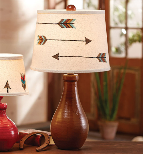 Spice Jug with Three Arrows Table Lamp
