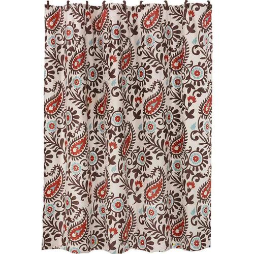 Spiced Paisley Shower Curtain