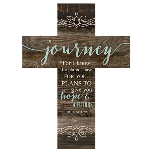 Spiritual Journey Wall Cross