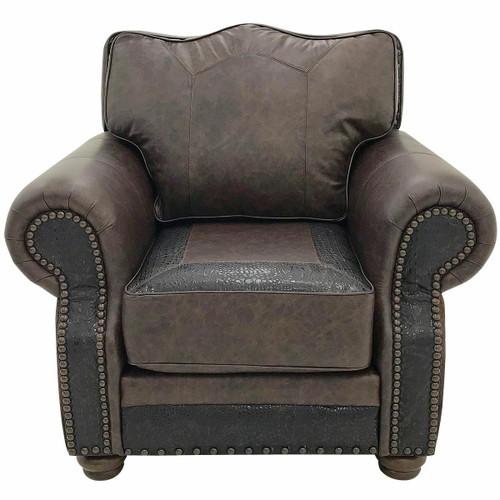 Split Rail Club Chair