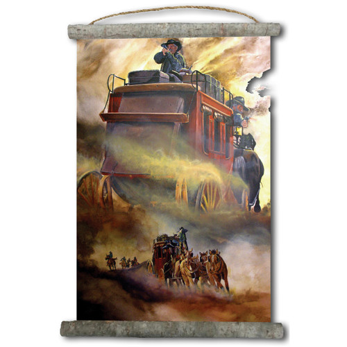 Stage Fright Canvas Wall Scroll