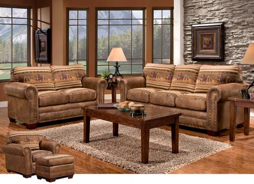 Stampede 4 Piece Living Room Set