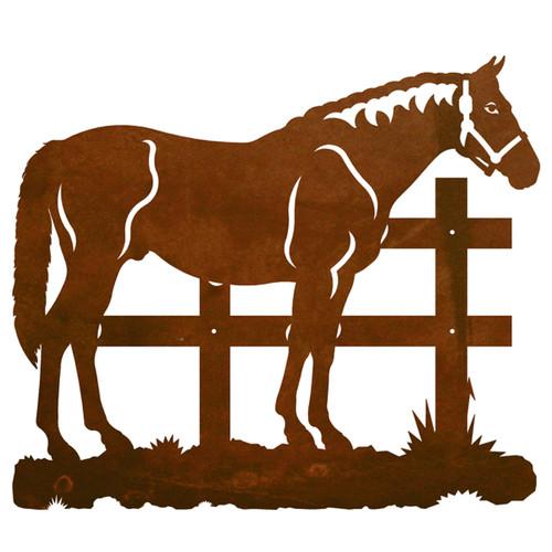 Standing Horse Wall Art