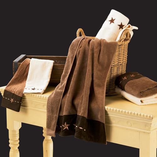 Star Cream Towel Set