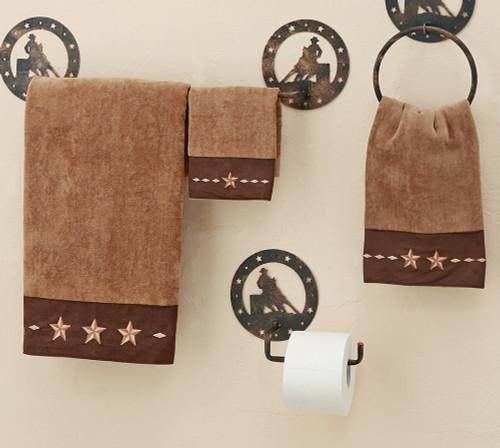 Star Mocha Towel Set