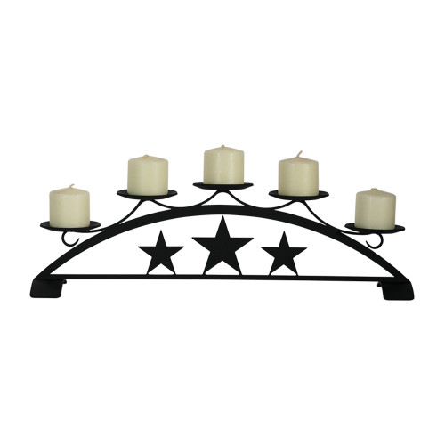 Star Table Top Pillar Candle Holder