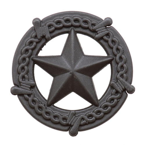 Star with Barbed Wire Cabinet Knob