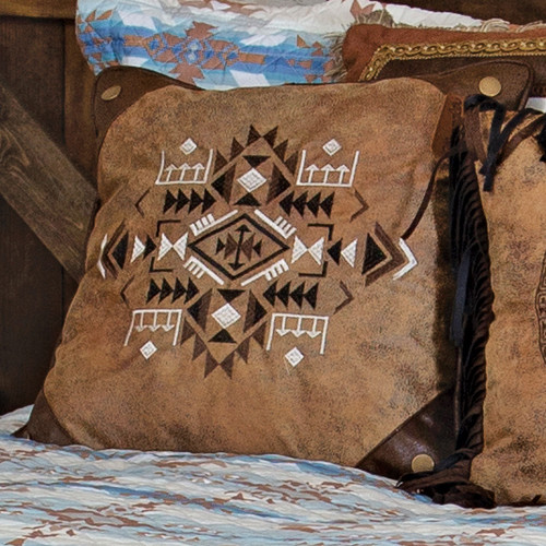 Studded Corners Pillow