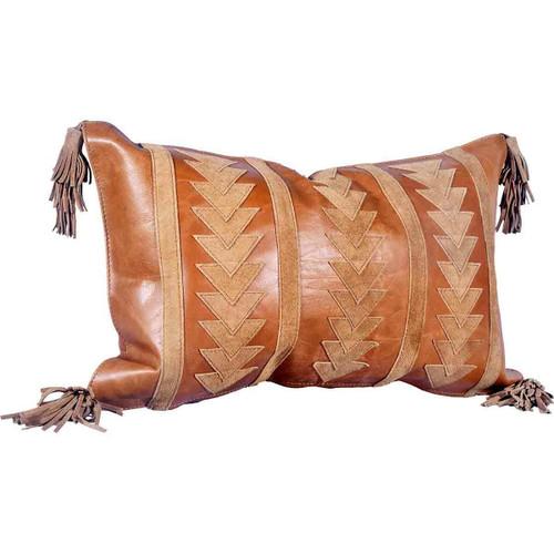 Suede Arrow Pillow