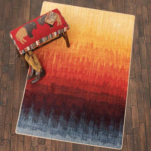 Sunfire Mesa Rug - 4 x 5
