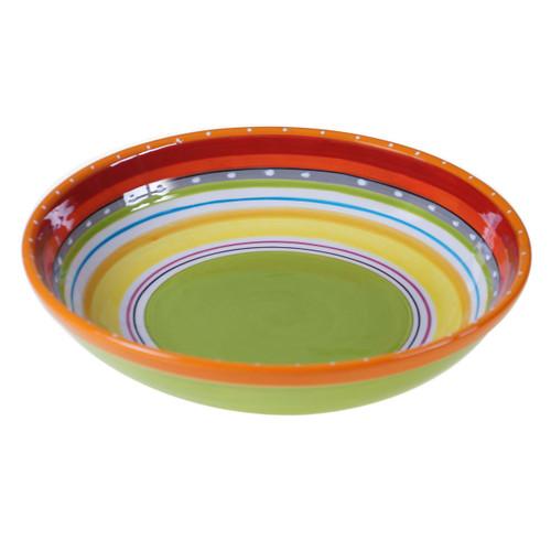 Sunrise Stripes Serving / Pasta Bowl