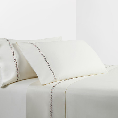 Taos Arrows Embroidered Sheet Set - Queen