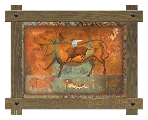 Taurus Framed Framed Wall Art
