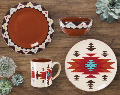 Terracotta Dream Dinnerware Collection (16pcs)