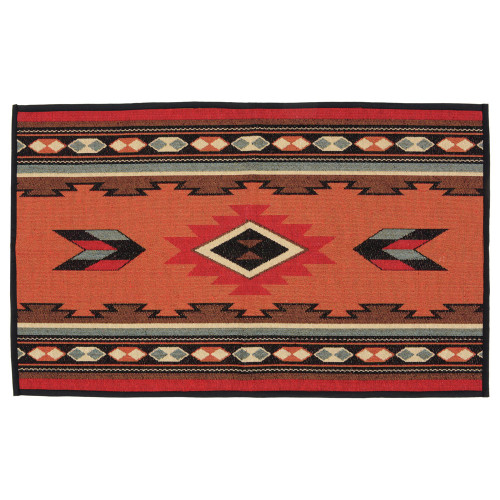 Terracotta Southwestern Accent Rug - OUT OF STOCK UNTIL 12/3/2022