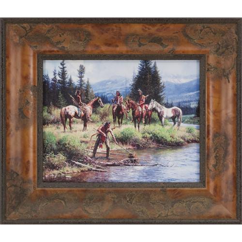 The River's Gift Framed Wall Art