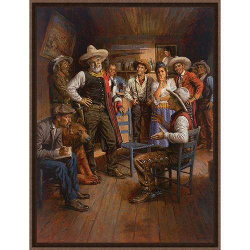 The Verdict Framed Canvas