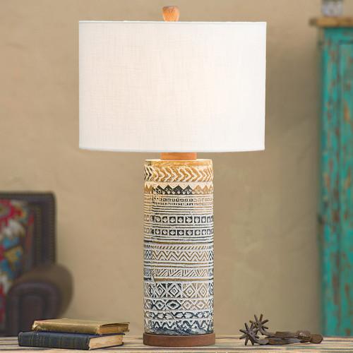 Tribal Horizons Table Lamp