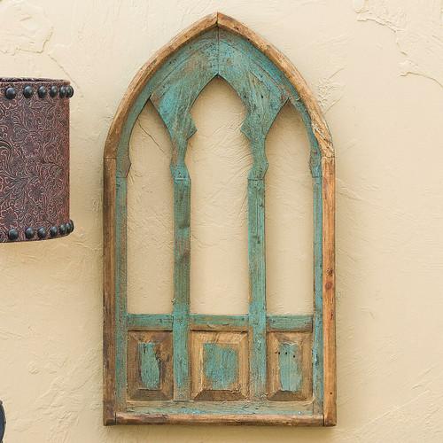 Trinity Window Turquoise Wall Hanging