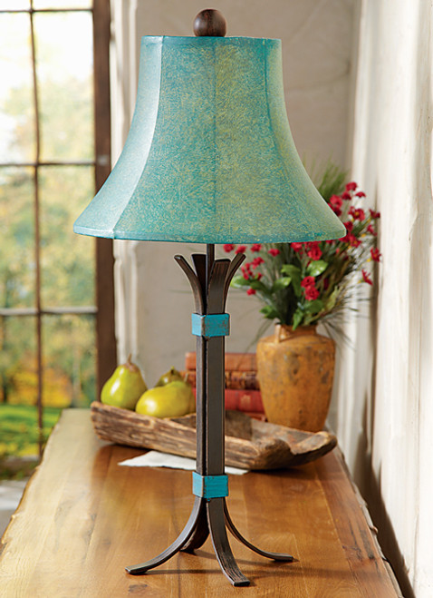 Turquoise Rio Table Lamp